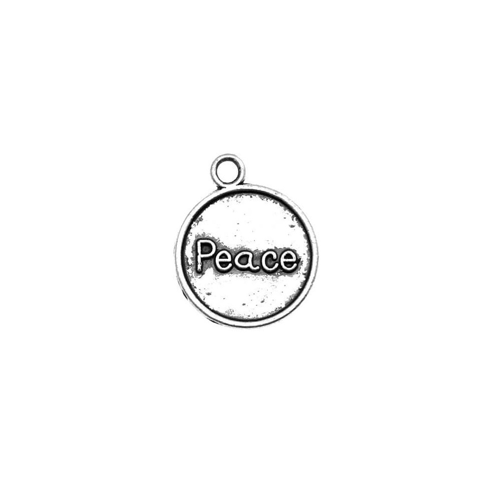 Charms monetka Peace SM0557 2szt