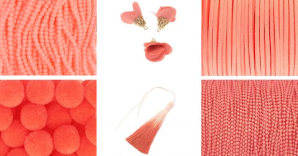 Manzuko living color elementy do biżuterii