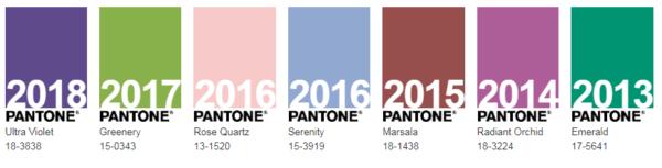 Kolory roku 2013-2018/ manzuko