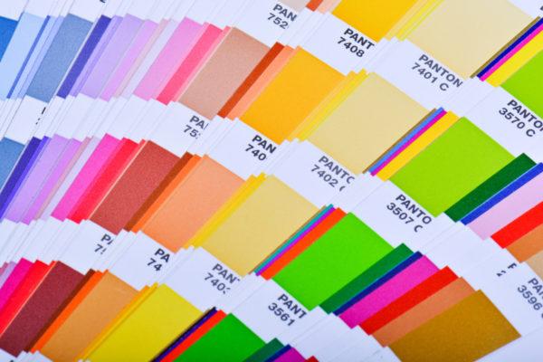 Wzornik kolorów Pantone/ manzuko