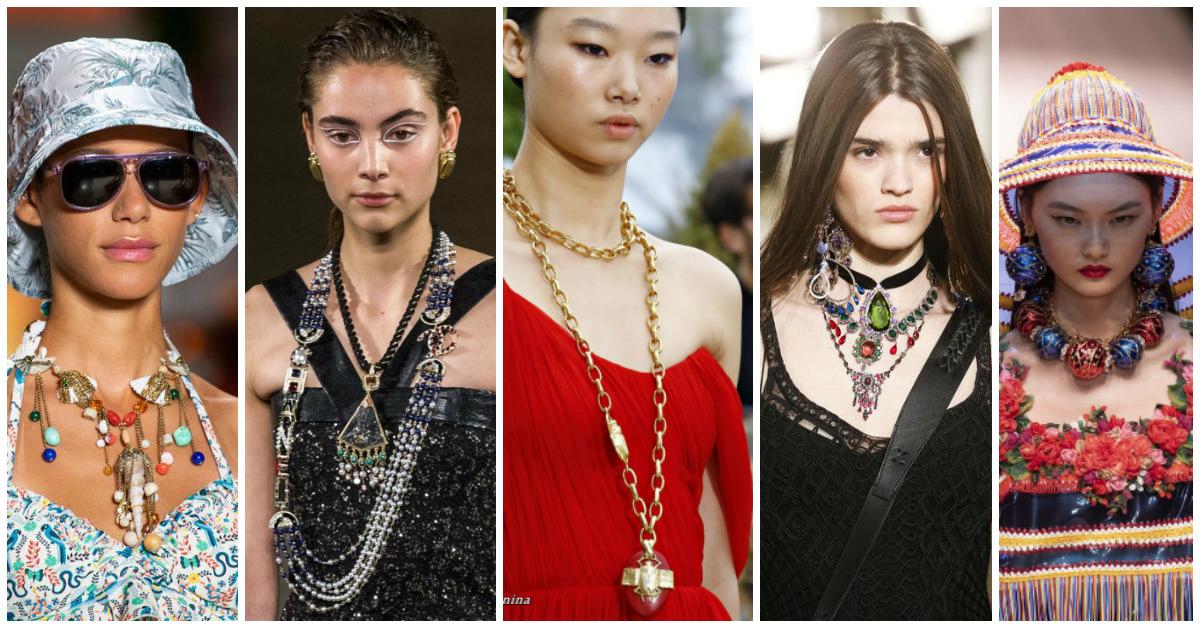 Biżuteria z wybiegów inspiracją dla rękodzieła?