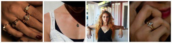 Biżuteria z kolekcji Emily Hirsch