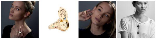 Projekty biżuterii Thei Miller