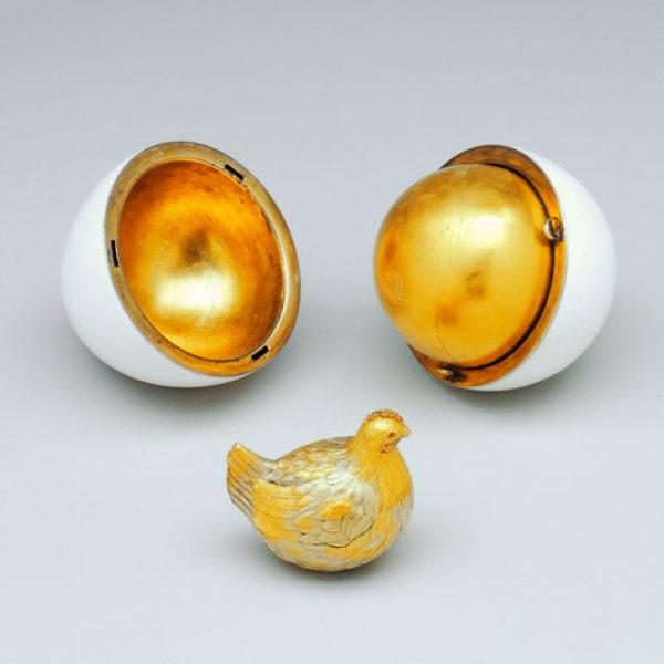 Pierwsze jajko Faberge w Carskiej kolekcji