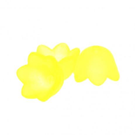 Akrylowe koraliki kwiatki