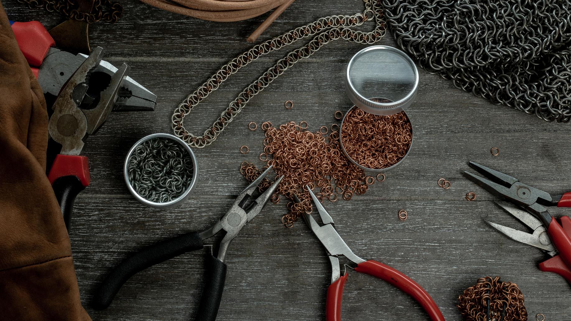 Techniki biżuteryjne: Chainmaille