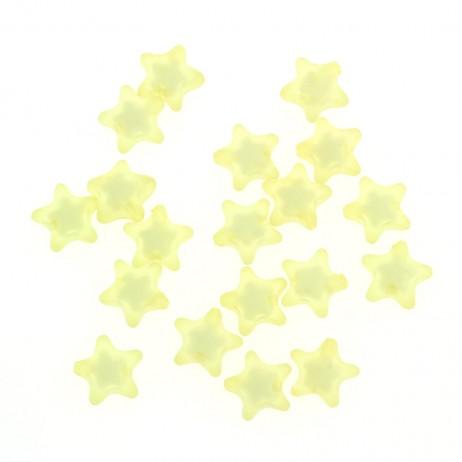 Akrylowe koraliki gwiazdki