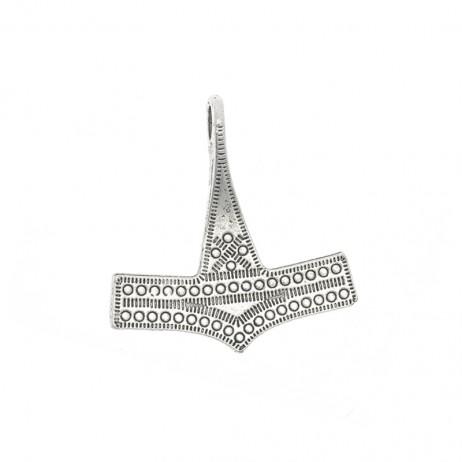 Symbol młota Thora, zawieszka do biżuterii