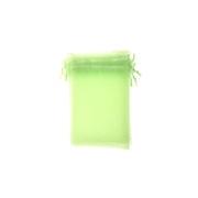 Zielony woreczek z organzy