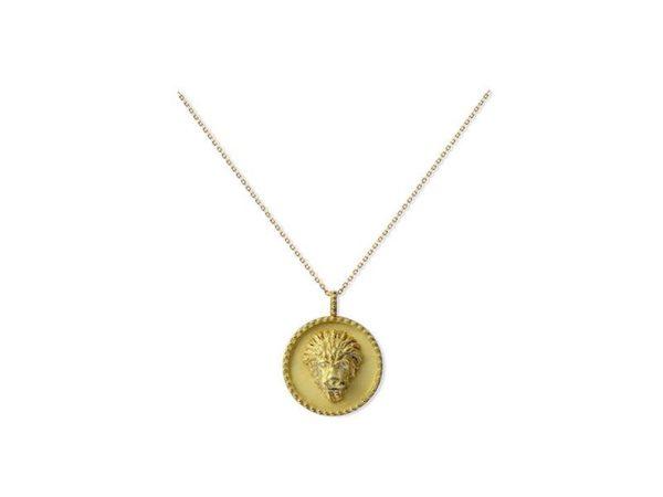 Medalion fenicki z lwem