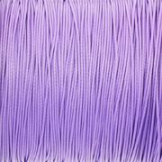 Sznurek pleciony lawendowy