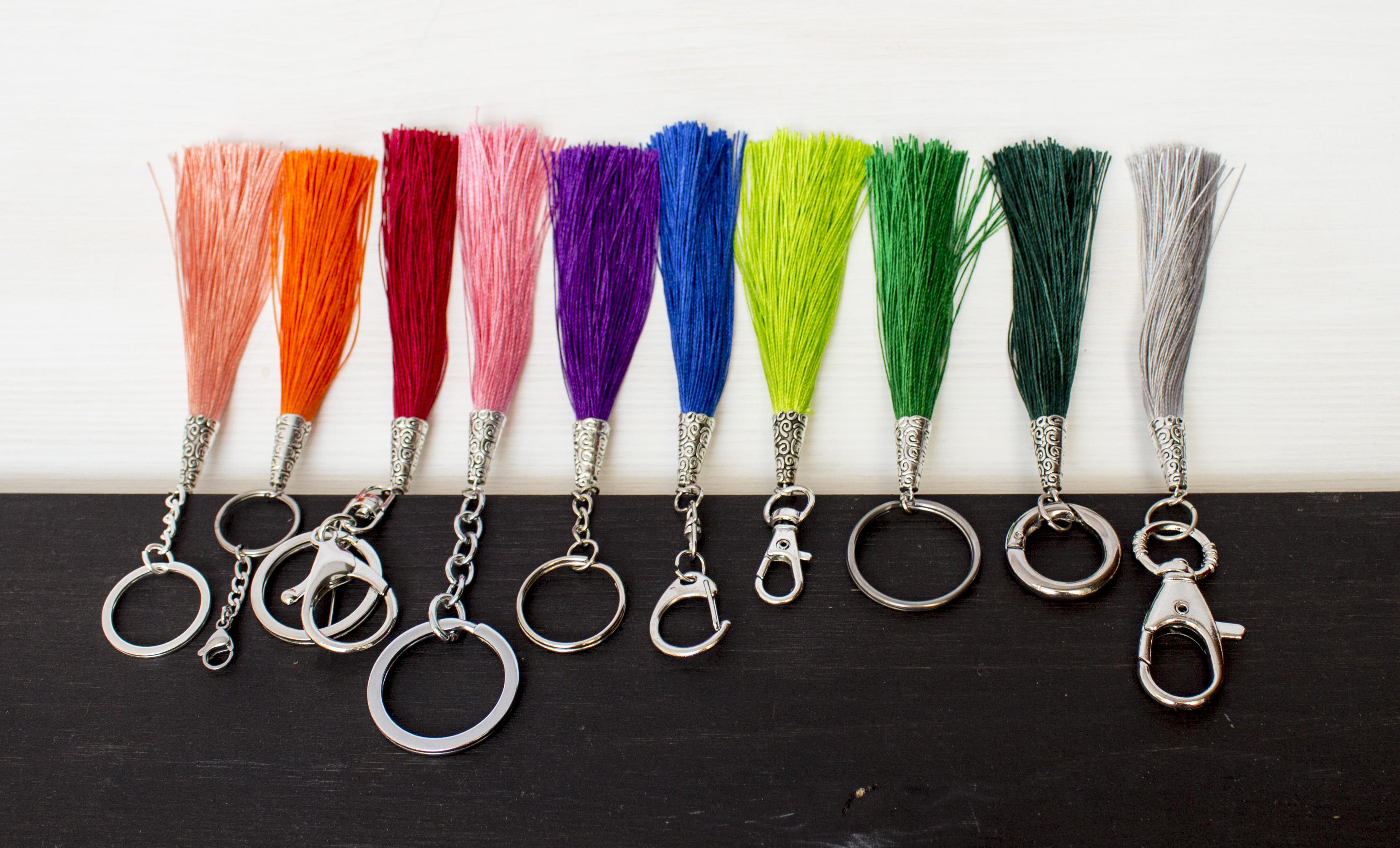 Breloki – nie tylko do kluczy, czyli 6 sposobów na ich wykorzystanie