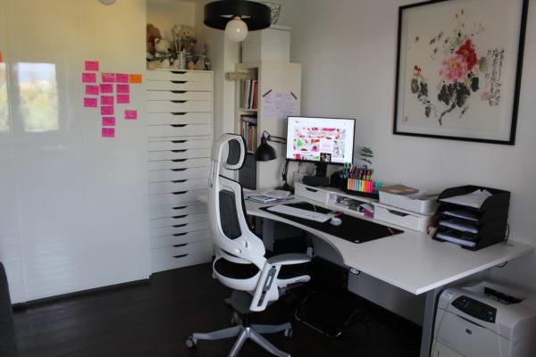 Biuro, sprzedaż rękodzieła online