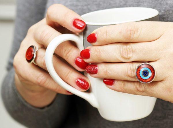 Ręcznie robione pierścionki