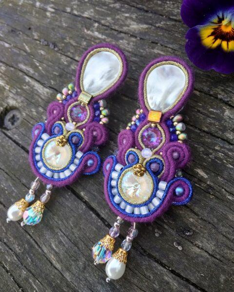 Kolczyki Soutache Sujo Jewelry