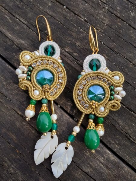 Wiszące kolczyki Sujo Jewelry