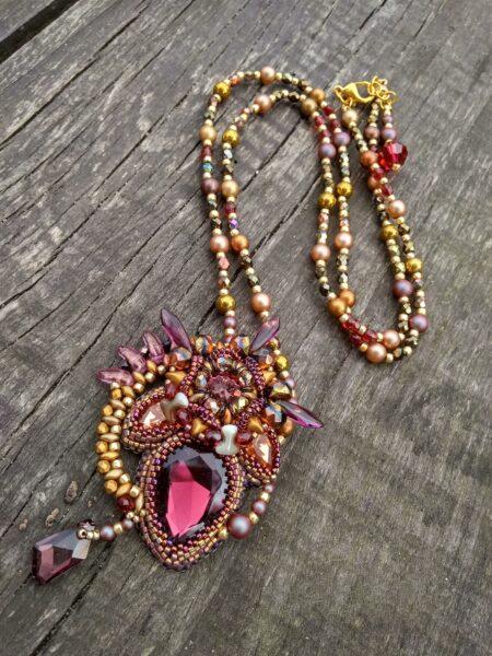 Naszyjnik soutache Sujo Jewelry