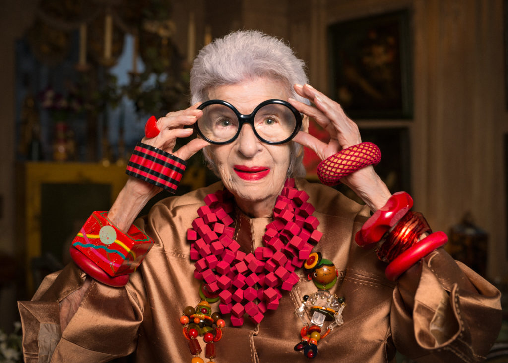 Iris Apfel – ikona mody