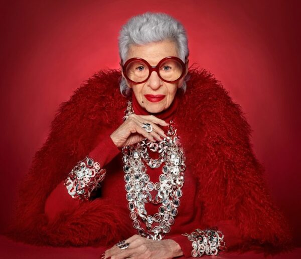 Iris Apfel ikona mody