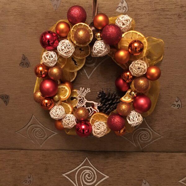 Wianek świąteczny handmade