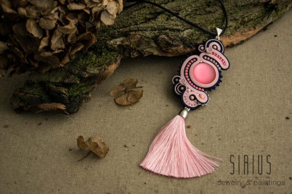 Naszyjnik soutache Sirius jewelry