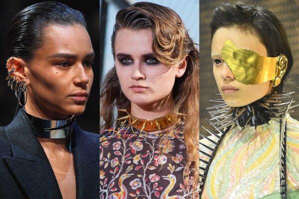 Trendy biżuteryjne 2020 punk