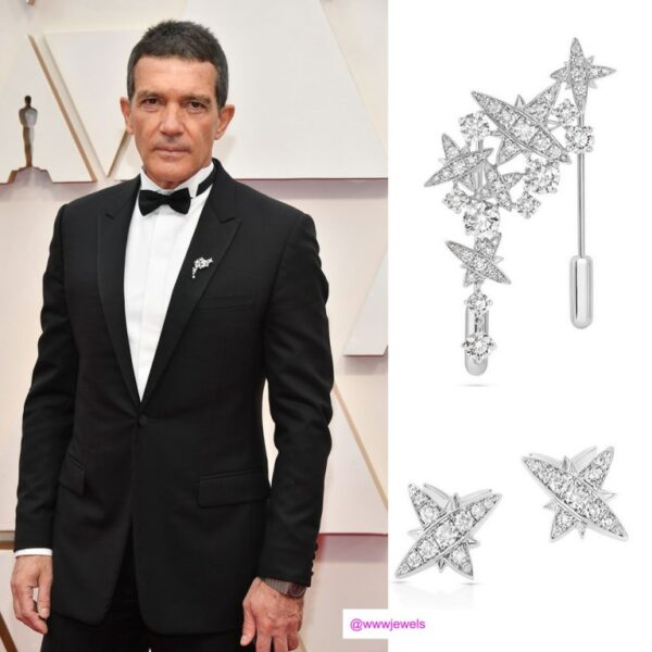 Atelier Swarovski Fine Jewellery dodatki męskie Oscary 2020