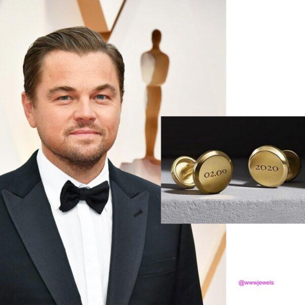 Męskie dodatki na gali rozdania Oscarów Leonardo DiCaprio