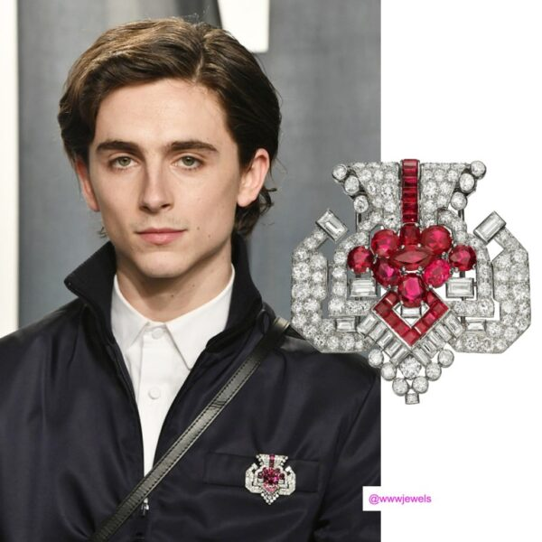 Broszka Cartier Oscary 2020