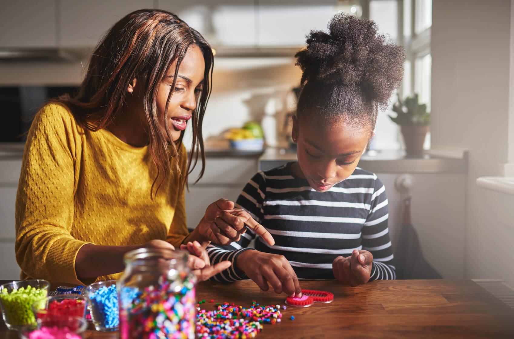 Kreatywne zabawy dla dzieci małych i dużych