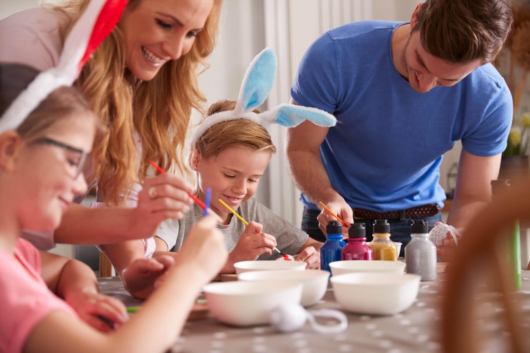 Pomysły na zabawę z dziećmi w czterech ścianach