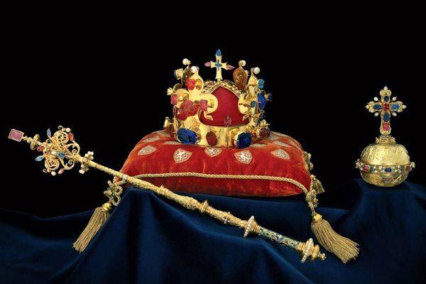 Najpiękniejsze korony i berła - Czeskie klejnoty koronne