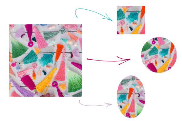 Grafiki do kaboszonów ze zdjęć