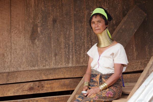 Naszyjniki plemienia Padaung