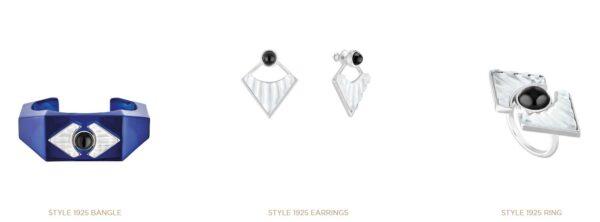 Nowoczesna kolekcja biżuterii marki Lalique inspirowana modą lat dwudziestych