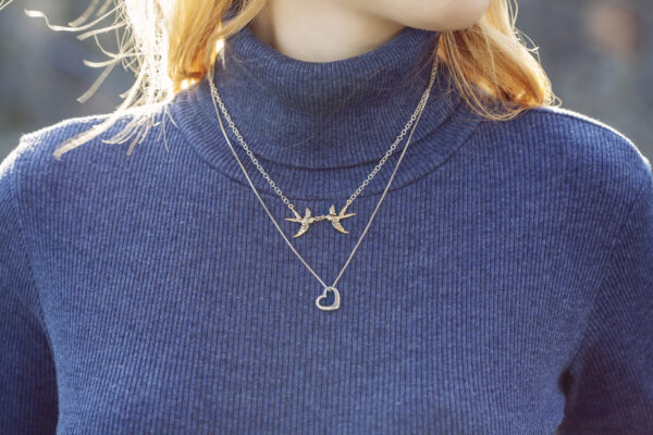 Biżuteria dla miłośnika ptaków