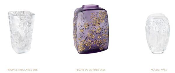Niezwykłe wazony wytwarzane przez Lalique