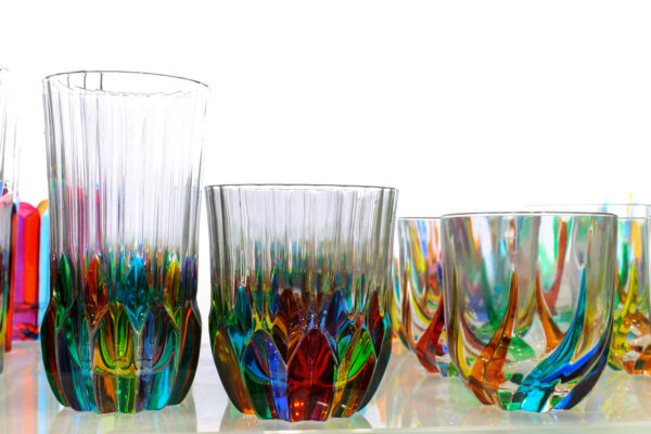 Naczynia ze szkła Murano