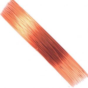Drut jubilerski kolor pomarańczowy