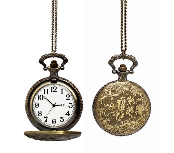 Zegarek ze zdobioną kopertą