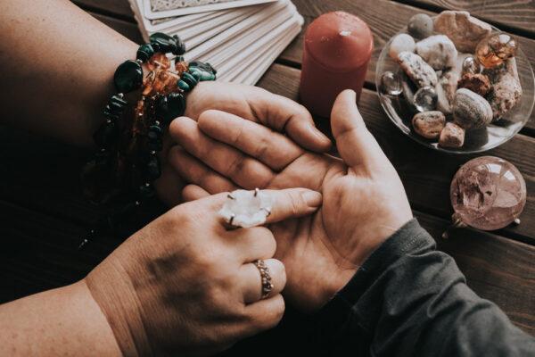 Symbolika palców w chiromancji