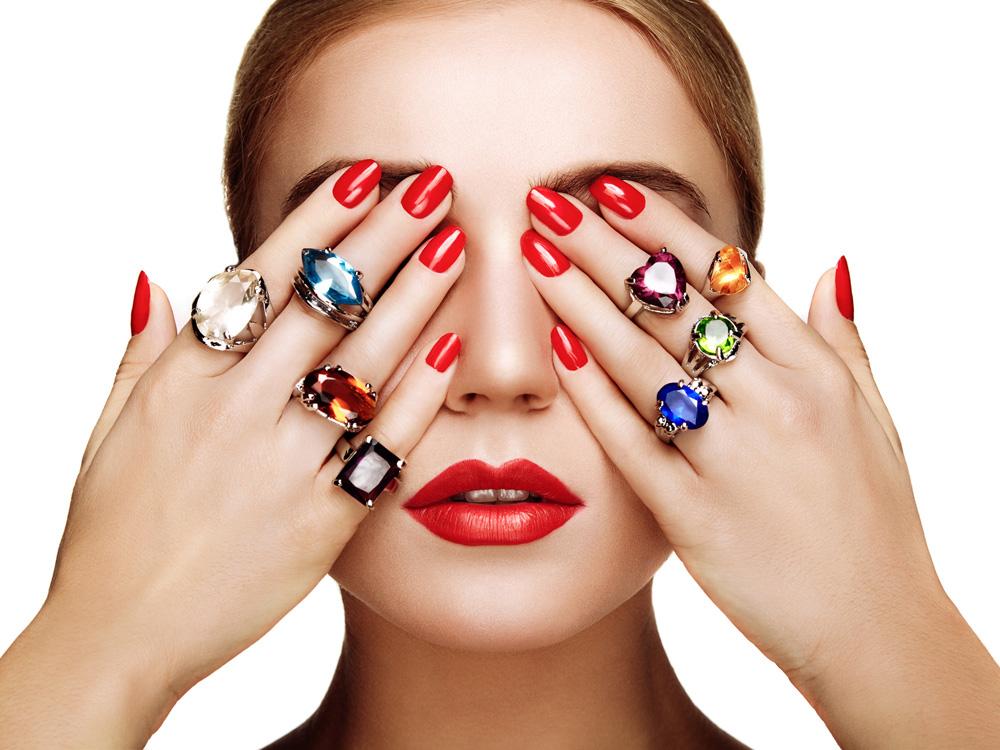Znaczenie pierścionków na palcach