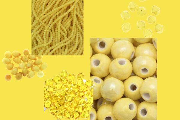 Rozświetlający żółty