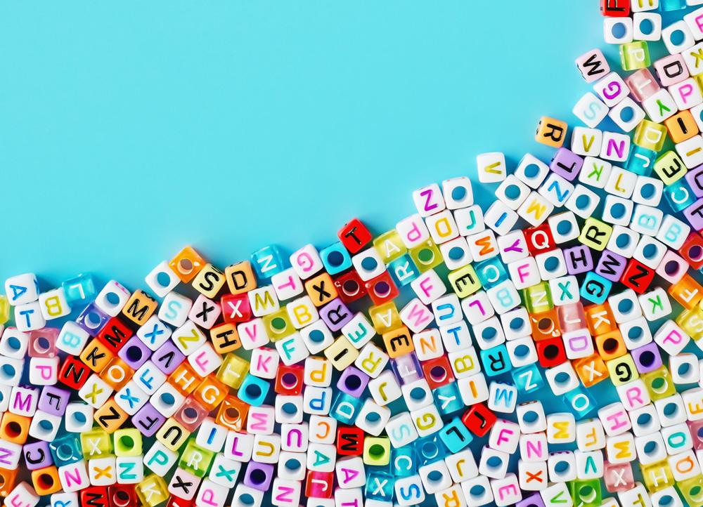 Koraliki literki – jak je wykorzystać ?