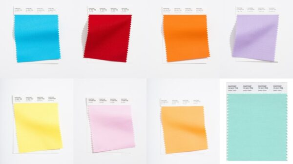 London Fashion Week kolory Pantone