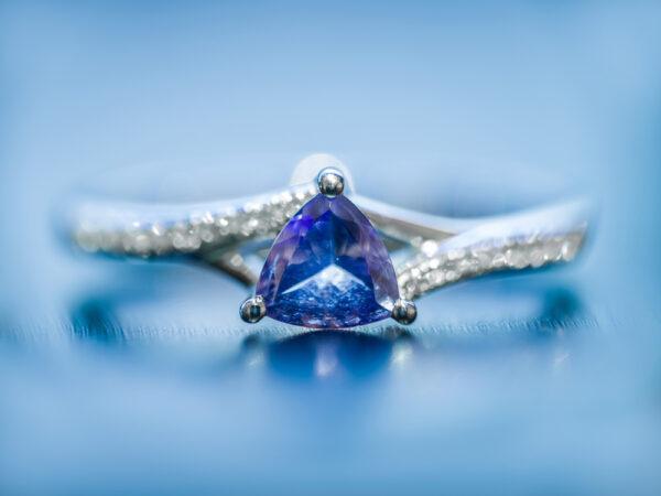 Biżuteria z tanzanitem