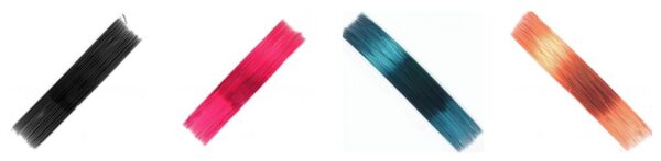 Drut jubilerski kolorowy
