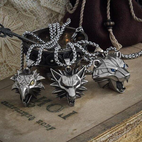 Medaliony cechów wiedźmińskich, medalion wiedźmina, medalion Geralta