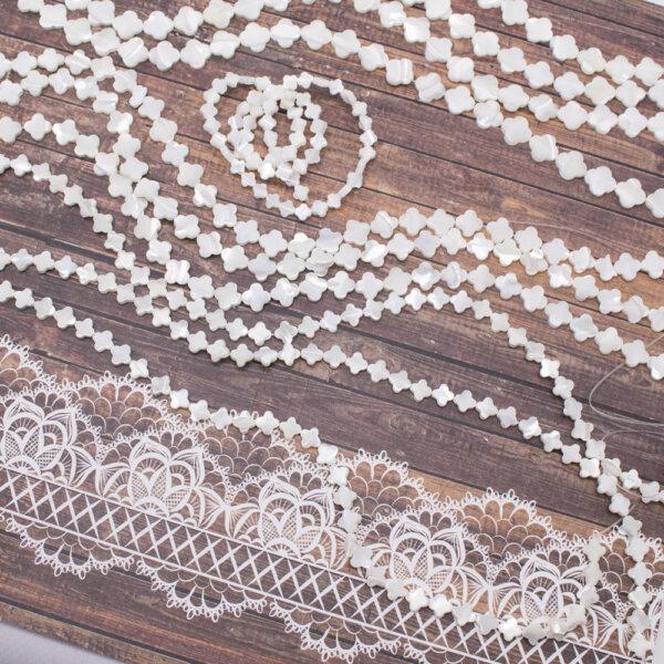 Koraliki z masy perłowej