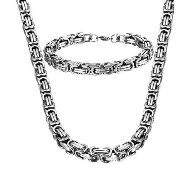 Spłaszczany łańcuszek bizantyjski